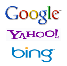 The three big names in Search Engines